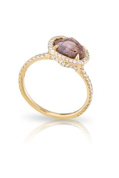 """A stunning rough diamond ring from our """"Classic"""" collection!"""