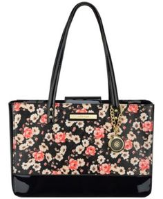 Anne Klein Pretty in Pink Large Tote