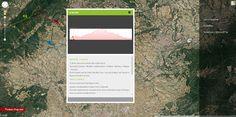 Dins el web de Font-rubi podem trobar un maps on ens indica rutes, indrets màgics, llocs d'escalada, i els tracks per senderisme i BTT | www.font-rubi.org/maps Desktop Screenshot, Blond