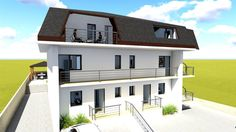 Casa 4 camere, tip duplex, 100 mp utili, Copou - Breazu Home Fashion, Real Estate, Mansions, Case, House Styles, Home Decor, Decoration Home, Manor Houses, Room Decor