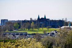 Taken from the grounds of Gartnavel Hospital April 2020