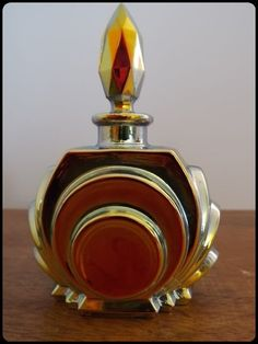 french lalique perfume bottle (don't care for the topper, but I love the bottle)