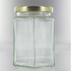 Hexagonal Jar 12 Oz | Hobbycraft