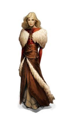 Commoner Women - Pathfinder PFRPG DND D&D d20 fantasy