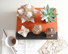 Sacred Geometry Model Kit, 3 Small Orbs, A unique Gift of Geometric Design, Lasercut Ornaments, Architect's Design by ThomasHouhaDesigns on Etsy https://www.etsy.com/uk/listing/151428825/sacred-geometry-model-kit-3-small-orbs-a