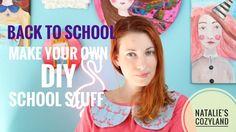 Back to school Diy - Πώς να φτιάξετε τα δικά σας σχολικά: Κασετίνες - Τε...