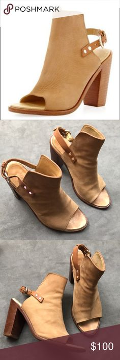 7b3f93a1b82 Soft Camel Suede with leather buckle. Size EUR US ~no trades~ rag   bone  Shoes Ankle Boots   Booties