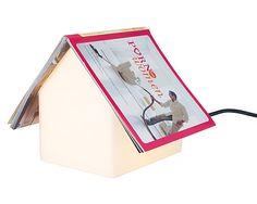 Book rest lamp!