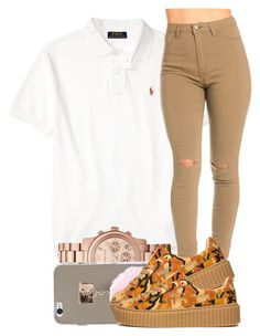 """89"" by jalay ❤ liked on Polyvore featuring Michael Kors and Puma"