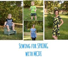 Spring Sewing With Mamma Can Do It | Mamma Can Do It Sewing Blog
