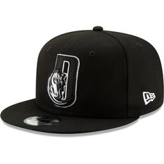 8e588ddd0b2 Men s Dallas Mavericks New Era Black Back Half Series 9FIFTY Adjustable Snapback  Hat