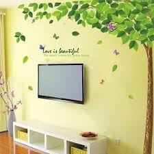 Wandtattoos Blumen Wohnideen Wohnzimmer Far Frisch Pinterest Wanddeko Und