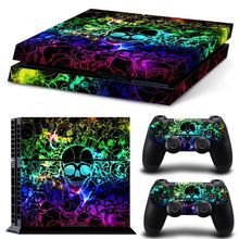 Cool Colourful Skull Vinyl Skin Sticker PS4 Decal for Sony PlayStation 4 Console+2 Pcs Cover Skin of Controllers     Tag a friend who would love this!     FREE Shipping Worldwide     #ElectronicsStore     Get it here ---> http://www.alielectronicsstore.com/products/cool-colourful-skull-vinyl-skin-sticker-ps4-decal-for-sony-playstation-4-console2-pcs-cover-skin-of-controllers/
