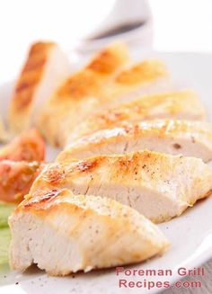 Easy to make low-sodium chicken breast recipe for your Foreman Grill. Very delicious and a wonderful addition to your low-sodium diet.
