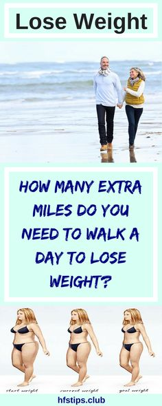 How Many Extra Miles do you need to Walk a Day to Lose Weight?