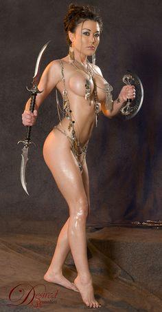 Warrior cosplay