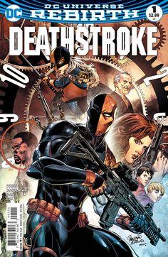 Deathstroke (2016) Issue #1
