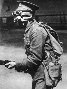 Gas Mask 1918