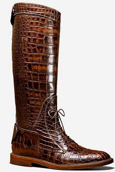 Wonder if this come in a really small size for women. I love these riding boots! Gucci - Men's