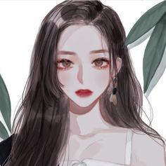 Digital Art Anime, Digital Art Girl, Pretty Anime Girl, Beautiful Anime Girl, Manga Girl, Anime Art Girl, Aesthetic Art, Aesthetic Anime, Poses Anime