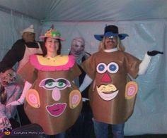 Mr. & Mrs. Potato Head - 2012 Halloween Costume Contest