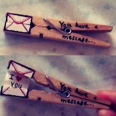 Clothes Pin Message. http://t.trusper.com/Clothes-Pin-Message/135596