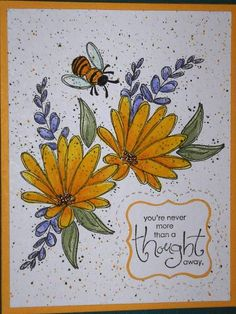 Summer Sun Flowers by Nan Cee's - Cards and Paper Crafts at Splitcoaststampers