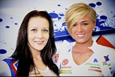 Grid Girls Promotions at Donington Park BTCC Media Day with