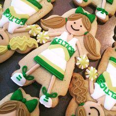 #cheerleader #cookies #ohsugarevents