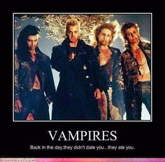 """Lost Boys""  1980s movie... Love this.... Let.s get back to this, shall we ? The Lost Boys 1987, Lost Boys Movie, Movies For Boys, Movie Tv, Movie Club, Epic Movie, Kiefer Sutherland, Vampire Love, Vampire Pics"