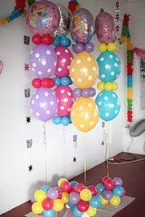 Cute balloon decoration