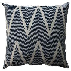 Pillow Perfect Bali Navy 23-inch Floor Pillow