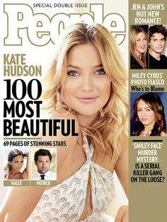 People's Annual 'Most Beautiful' Issue - 2008: Kate Hudson