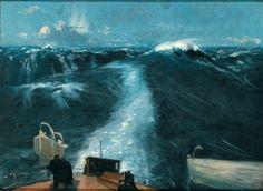 Atlantic Storm, c 1876 by John Singer Sargent