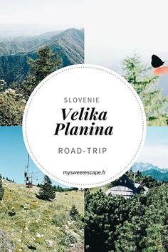 Road-trip en Slovénie: Velika Planina et ses alpages Road Trip Europe, Road Trip Destinations, Slovenia Travel, Excursion, Voyage Europe, Travel Inspiration, Around The Worlds, Earth, Origami