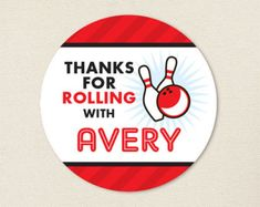 Bowling Pin Party Favor Gift Tags Bowling Birthday Party | Etsy Bowling Party Favors, Bowling Party Invitations, Birthday Party Favors, Birthday Parties, Party Gift Bags, Party Gifts, Favor Tags, Gift Tags, Bowling Pins
