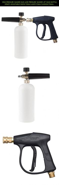 High Pressure Washer Gun and Pressure Washer Jet Wash Bottle, OPACC Adjustable S…  High Pressure Washer Gun and Pressure Washer Jet Wash Bottle, OPACC Adjustable Snow Foam Lance Foam Cannon Foam Blaster #parts #camera #racing #products #technology #tech #storage #plans #water #bottle...