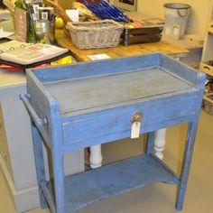 Annie Sloan Greek Blue with Dark Wax £99