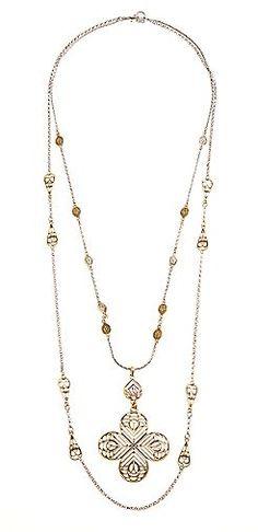 Openwork Clover Necklace | Lucky Brand