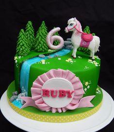 Barbie Majesty Horse cake - Cake by Elizabeth Miles Cake Design . Cowgirl Birthday Cakes, Horse Birthday, Barbie Birthday, Birthday Treats, Cute Birthday Ideas, Pony Cake, Horse Cake, Barbie Cake, Cake Games