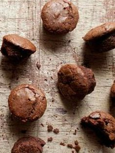 Chocolate Brownie Bites - dairy-free, these freeze well too so you can always have a snack in the freezer