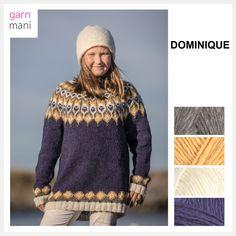 no - Spesialist på islandsk garn Fair Isles, Men Sweater, Barn, Pullover, Knitting, Model, Sweaters, Inspiration, Design