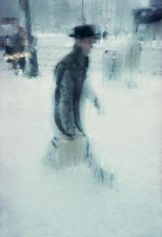 Nieve. Saul Leiter 1960s