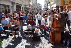 Tarde de Tango en San Telmo, Buenos Aires, Argentina