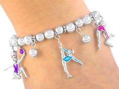 Bracelet: Gymnastics Stretch Charm