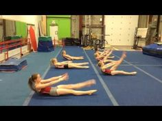 Uptown Abs workout at Gymtastics Gym Club - YouTube