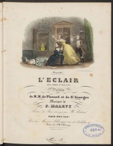 Halévy vocal scores at the Loeb Music Library