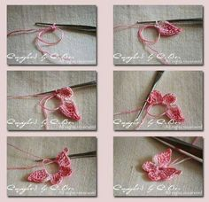 Picture tutorial for crocheted  butterfly?  When I tapped it, site took long time to load (& didn't  finish). When I tapped there, it went to site w/ Asian language - Still, it's creative & pretty.
