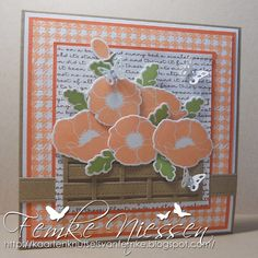 stamps: MFT pretty poppies, spring backgrounds. tools: MFT dienamics: blueprints 1 and 2, pretty poppies, notched tag.