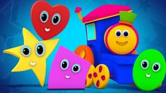 Kids see shapes are rolling and having lots of fun with Bob The Train. While watching them rolling do you feel the same. Then what are you waiting for. Sing this song and have fun with them. #bobthetrain #shapesrollingsongs #shapessong #nurseryrhymes #kidsrhymes #rhymesforkids #kidssongs #babysongs #educational #entertainment #fun #playtime #learning #babies #toddlers